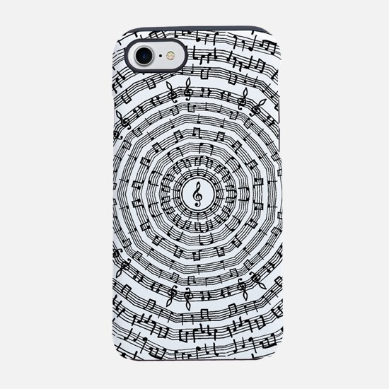 Music Pattern iPhone 7 Tough Case