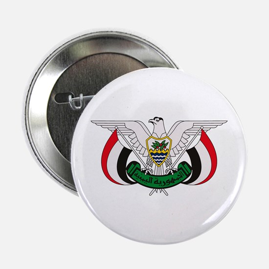 """Yemen Coat of Arms 2.25"""" Button (10 pack)"""