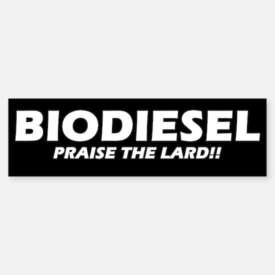 BIODIESEL Praise The Lard! (white)