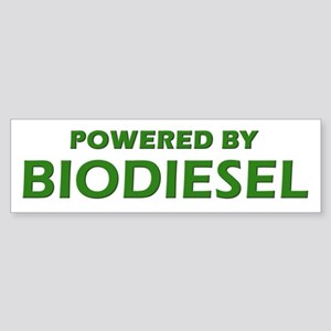 Powered By BIODIESEL (lt green)