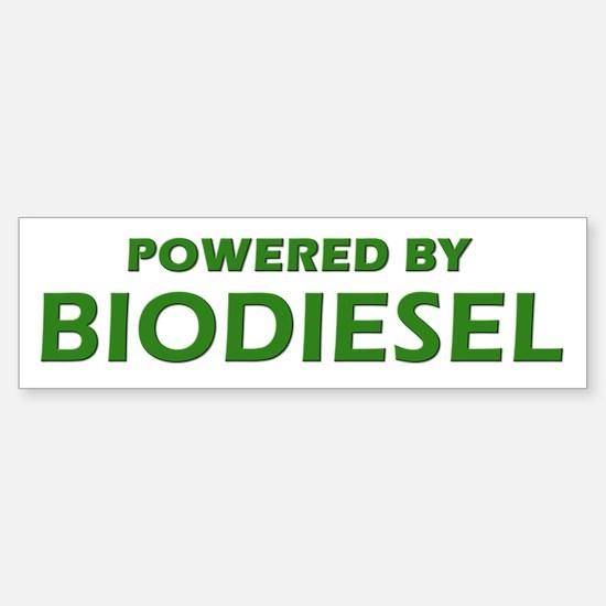 Powered By BIODIESEL (lt green)