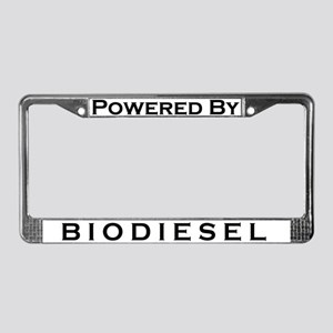 Powered By Biodiesel PLATE