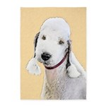 Bedlington Terrier 5'x7'Area Rug