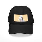 Bedlington Terrier Black Cap with Patch