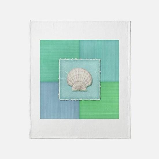 Cute Sand dollar Throw Blanket