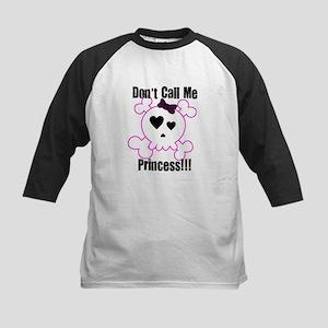 Anti-Princess Kids Baseball Jersey