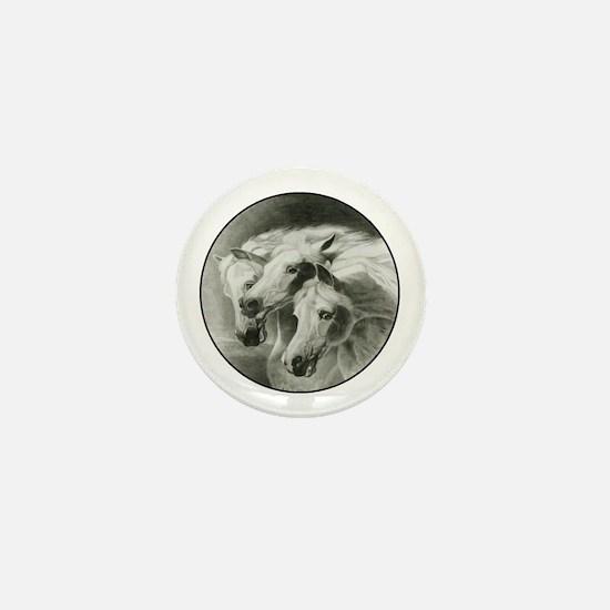 Pharaoh's Horses Mini Button
