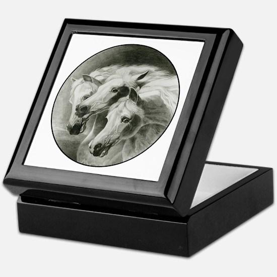Pharaoh's Horses Keepsake Box