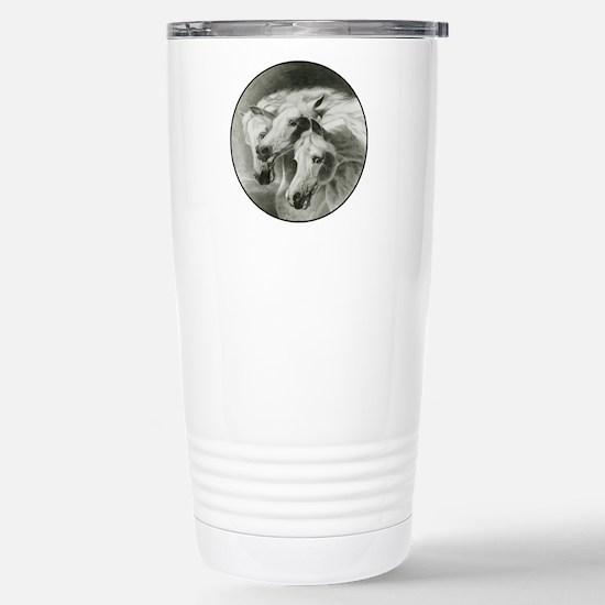 Pharaoh's Horses Stainless Steel Travel Mug