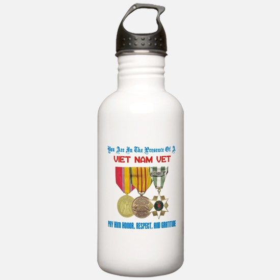 Presence of a Viet Nam Vet Water Bottle