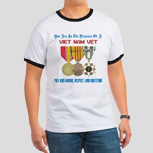 Presence of a Viet Nam Vet Ringer T
