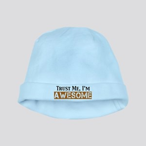 Trust Me I'm Awesome baby hat