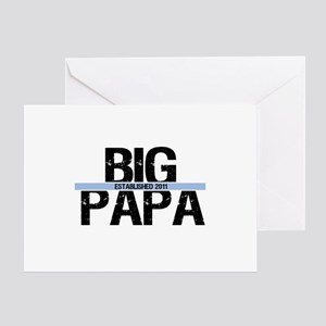Big Papa 2011 Banner Greeting Card