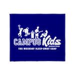 Campus Kids Throw Blanket