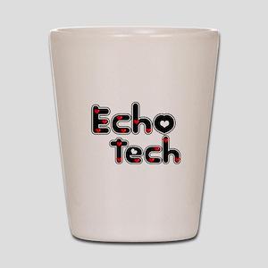 Cardiac Echo Tech Shot Glass