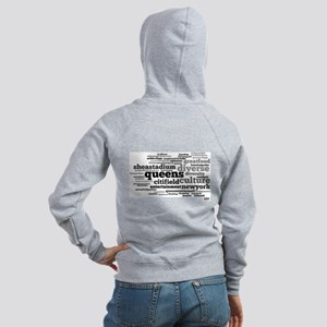 N.Y.E Queens, NY Word Cloud Hoodie