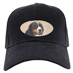 Bernese Mountain Dog Black Cap with Patch