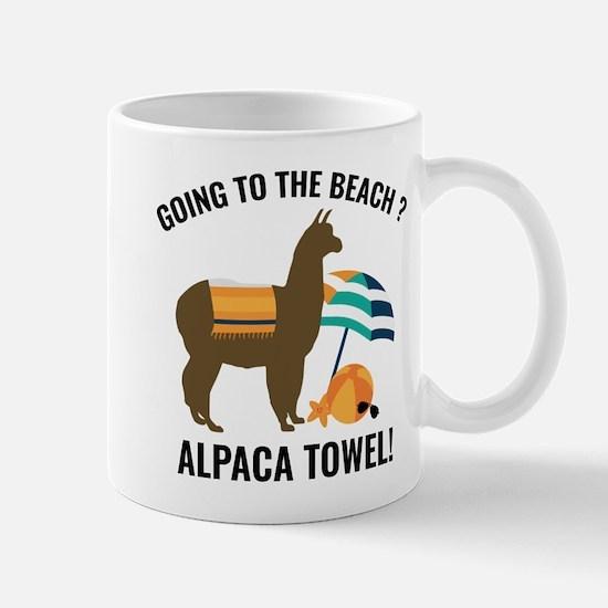 Alpaca Towel Large Mugs