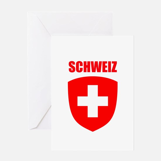 Schweiz Greeting Card