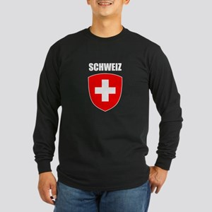 Schweiz Long Sleeve Dark T-Shirt