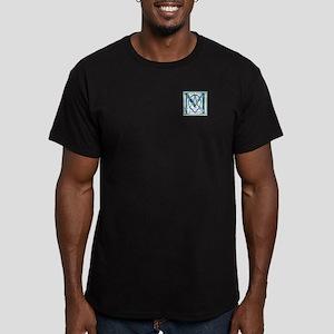 Monogram-MacIntyre hun Men's Fitted T-Shirt (dark)