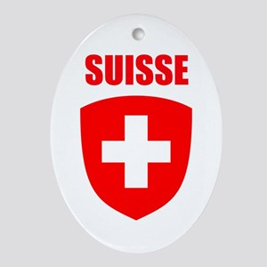 Suisse Ornament (Oval)