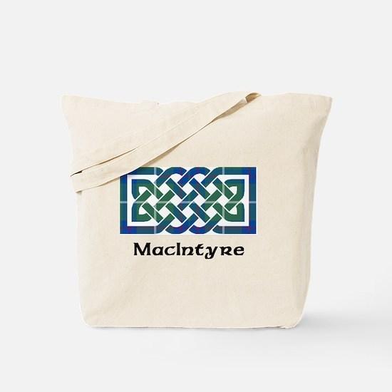 Knot-MacIntyre hunting Tote Bag