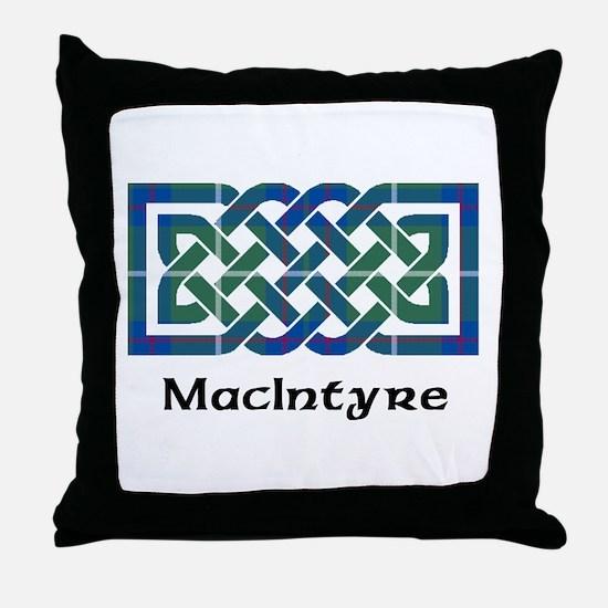 Knot-MacIntyre hunting Throw Pillow