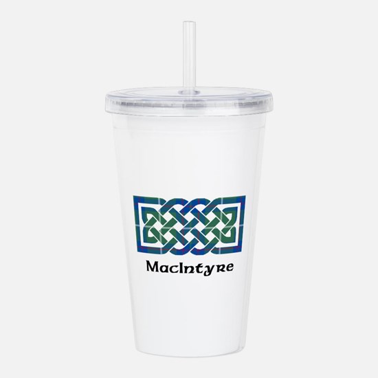 Knot-MacIntyre hunting Acrylic Double-wall Tumbler
