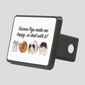 Guinea Pigs make me happy Hitch Cover
