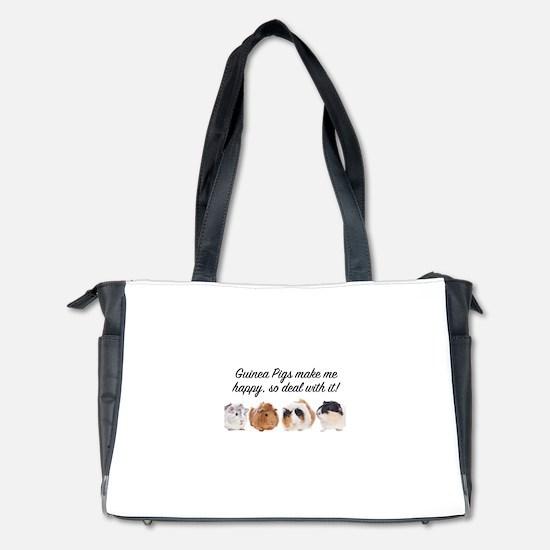 Guinea Pigs make me happy Diaper Bag
