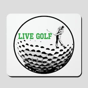LIVE GOLF Mousepad