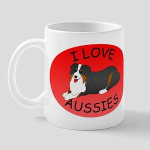 Australian Shepherd Dogs Mug