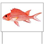 Hawaiian Squirrelfish Yard Sign