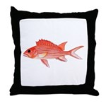 Hawaiian Squirrelfish Throw Pillow