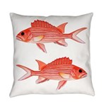 Hawaiian Squirrelfish Everyday Pillow