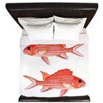 Hawaiian Squirrelfish King Duvet