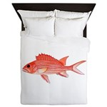 Hawaiian Squirrelfish Queen Duvet