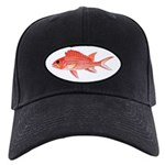 Hawaiian Squirrelfish Baseball Hat