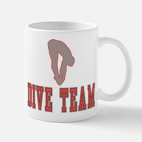 Cute Diving board Mug