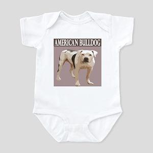 American Bulldog Infant Creeper