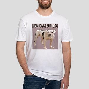 American Bulldog Fitted T-Shirt