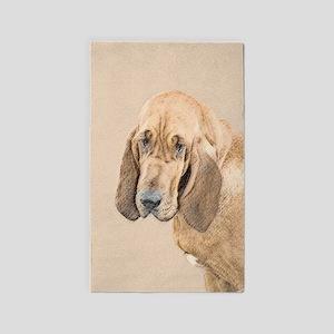 Bloodhound Area Rug