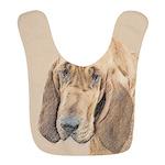 Bloodhound Polyester Baby Bib