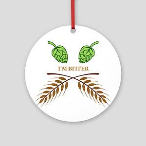 I'm Bitter Ornament (Round)