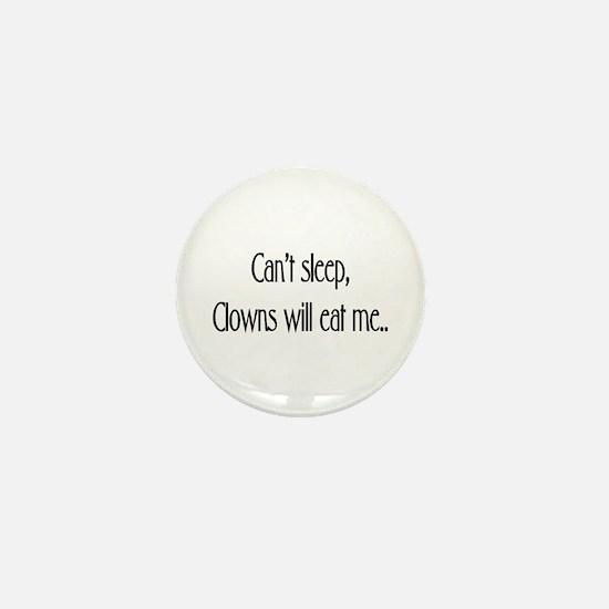 Clowns !! Mini Button