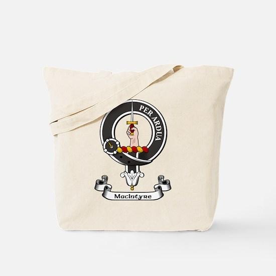 Badge-MacIntyre Tote Bag