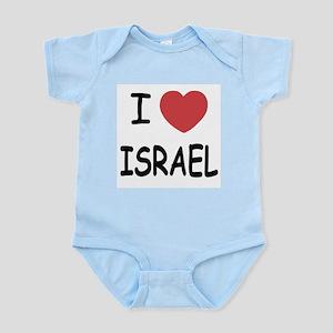 I heart Israel Infant Bodysuit