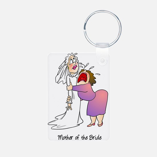 Funny Mother of the Bride Keychains