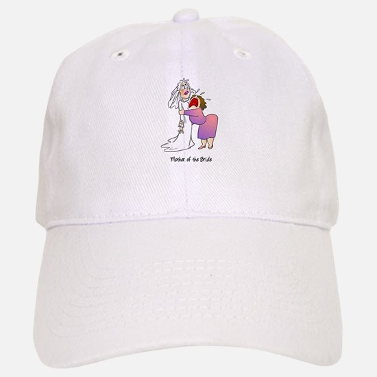 Funny Mother of the Bride Baseball Baseball Cap